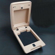 For Buick new and old Excely central armrest box cover upper beige