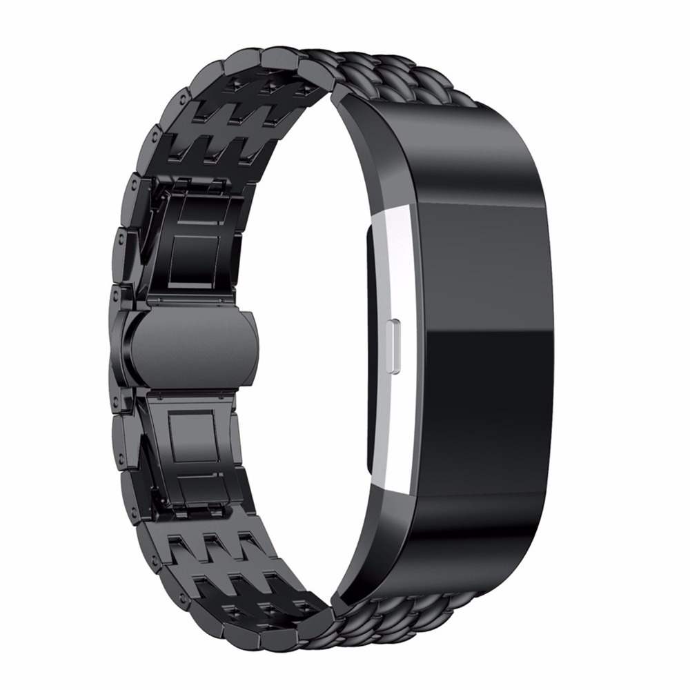 LNO strap Für Fitbit gebühr 2 band edelstahl fitbit ersatz charger2 band Smart Armband handgelenk bands metall Armband