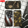 Gerleek Retro Cool Army Camouflage Fundas Case For Apple iPhone 5 5S SE X Back Cover Phone Cases For iphone 7 6 6S 8 Plus X