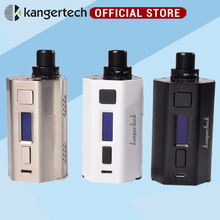 Kanger cupti 2 Box Mod Kit 5ml Capacity with max 80W output Firmware upgradeable Box Mod 18650 Electronic Cigarette