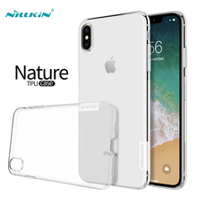 Nillkin sFor iphone SE 2020 Case X XR XS Max TPU Cover Nature Series Soft Back Clear Case For iphone 8 7 6 6S Plus 5 5S