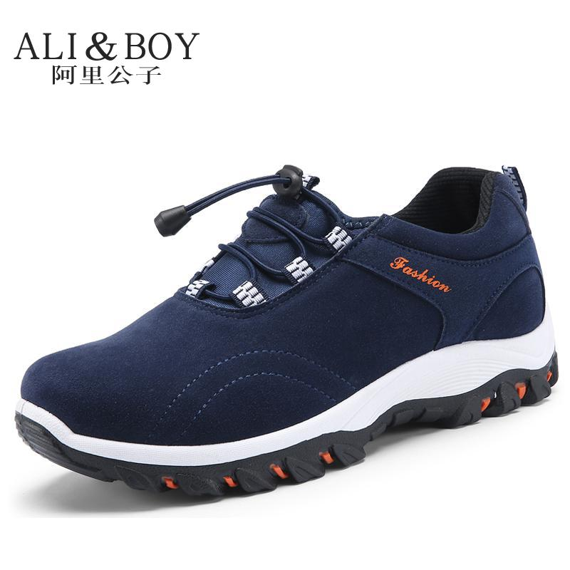 ФОТО 2017 New Spring Summer man light massage casual shoes men's walking shoes male outdoor shoes