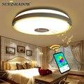 RGB Led Kronleuchter Für wohnzimmer Schlafzimmer Küche Moderne Led Decke Kronleuchter Beleuchtung Bluetooth Lichter Musik Leuchten-in Kronleuchter aus Licht & Beleuchtung bei