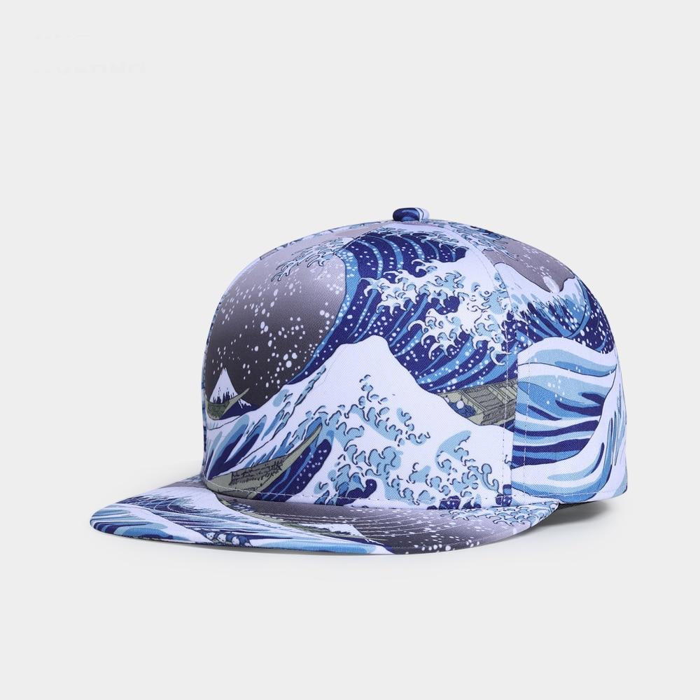 Brand NUZADA Original Design 3D Printing Men Women Couple Baseball Cap Spring Summer Autumn Hats Quality Bone Snapback Caps