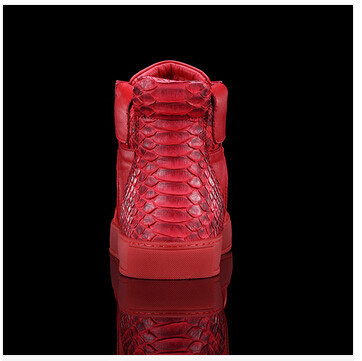 e677d23b111 Famous brand royaums women flats shoes snake men sneakers cowhide leather  platform sport shoes red sole low top women sneakers-in Men s Casual Shoes  from ...