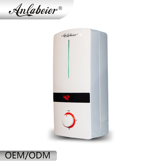 Anlabeier 220 V 240 V 3 Second Heating 5.5kW Kitchen Instant Electric Water Heater For Shower