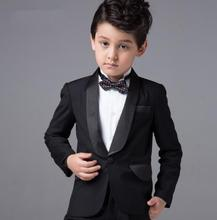 Formal Wear Boys Custom Made Smoking Casamento Evening Tuxedo Suit Boy clothing (Coat+Pants+Tie+Shirt) B78F81578