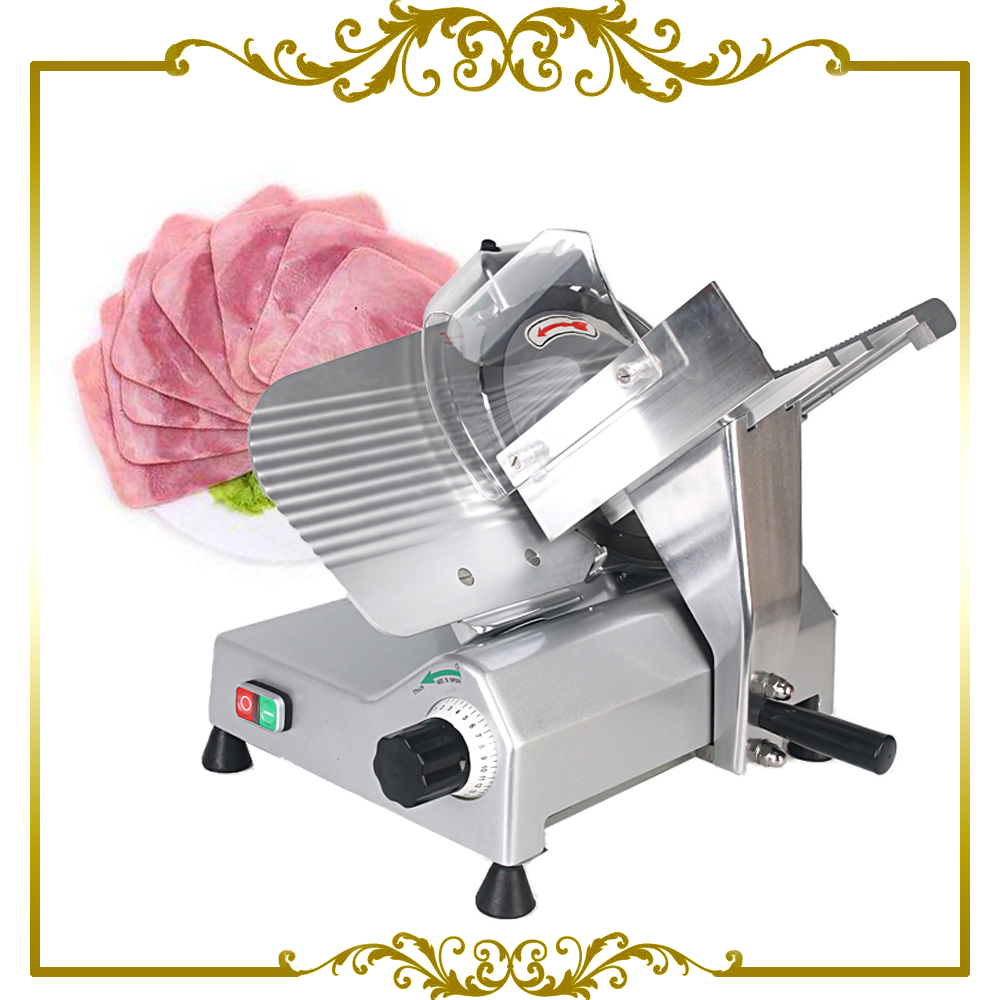 Commercial Frozen Meat Slicer Electric Semi-automatic Ham Cutter 110V 220V free shipping electric 220v frozen meat