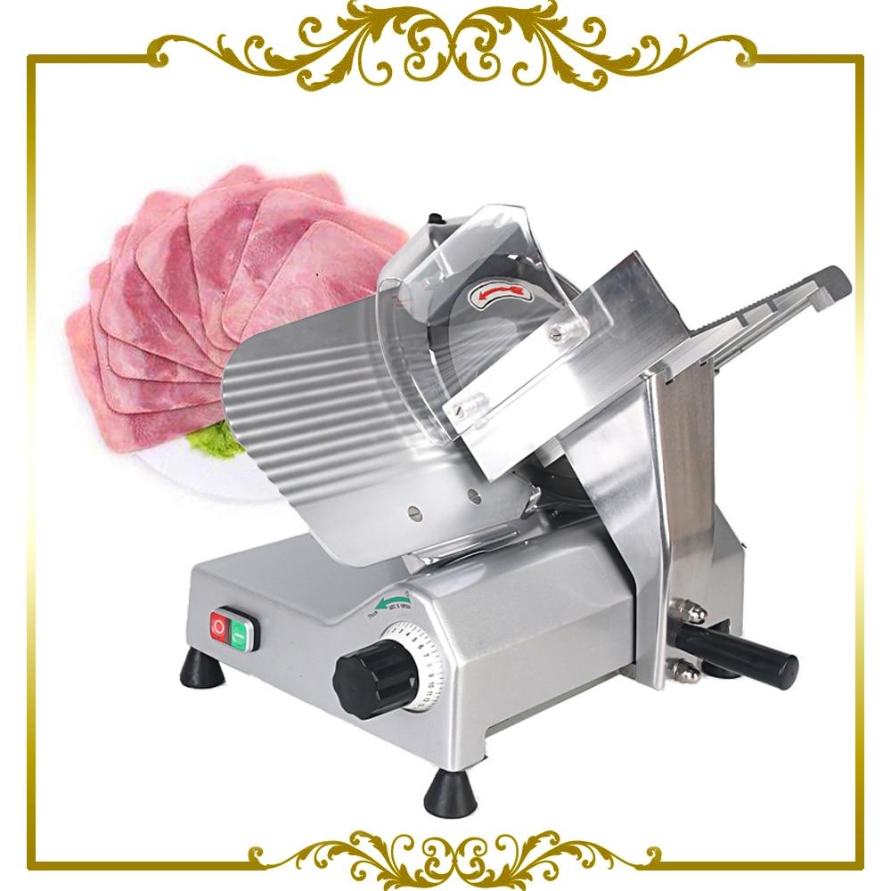Commercial Frozen Meat Slicer Electric Semi-automatic Ham Cutter 110V 220V