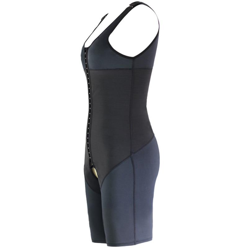 Sleeves Men Recovery Full Body Shaper Hook Hold Tummy Control Shapewear lift Bra Bodysuits Thigh Push up Slimmer Underwear (10)