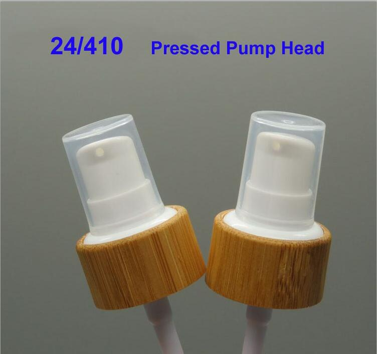 купить 50pcs100pcs 24/410 Cosmetic Lotion/Emulsion Pump Head/Cap, Bamboo Cosmetic Pressed Pump Lid for Shampoo Bottles, Cream Pump Head по цене 3960.85 рублей