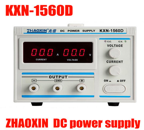 All New Digital KXN-1560D High-power Switching DC Power Supply, 0-15V Voltage Output,0-60A Current Output new kxn 1005d high power switching dc power supply adjustable dc 0 100v 0 5a
