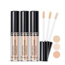 BIOAQUA Makeup Concealer Liquid Perfect Cover Pores Dark Circles Oil-Control Waterproof Face Primer