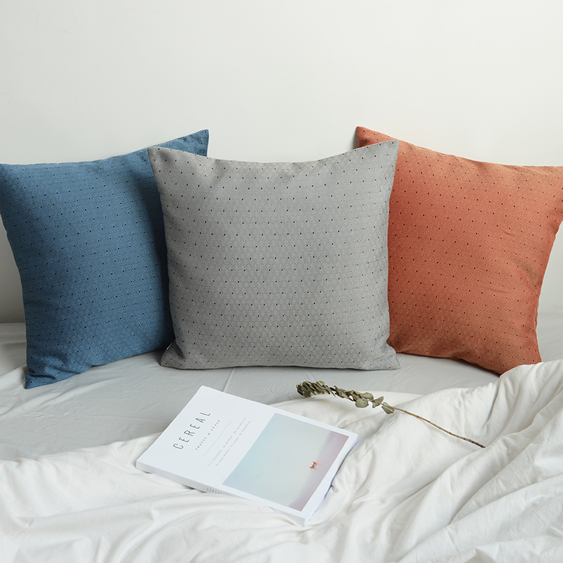 US $25.99 |Dobby solid navy blue grey Modern decorative Nordic design  Cushion blue back sofa bedding Lumbar Pillow Throw Pillow-in Cushion from  Home & ...