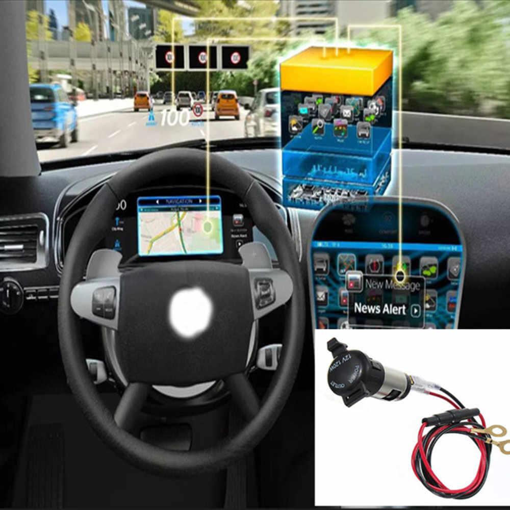 Adaptador de corriente del cargador del USB del enchufe del encendedor del coche del vehículo 12V enchufe del encendedor del coche del vehículo 12V adaptador de corriente del cargador del USB