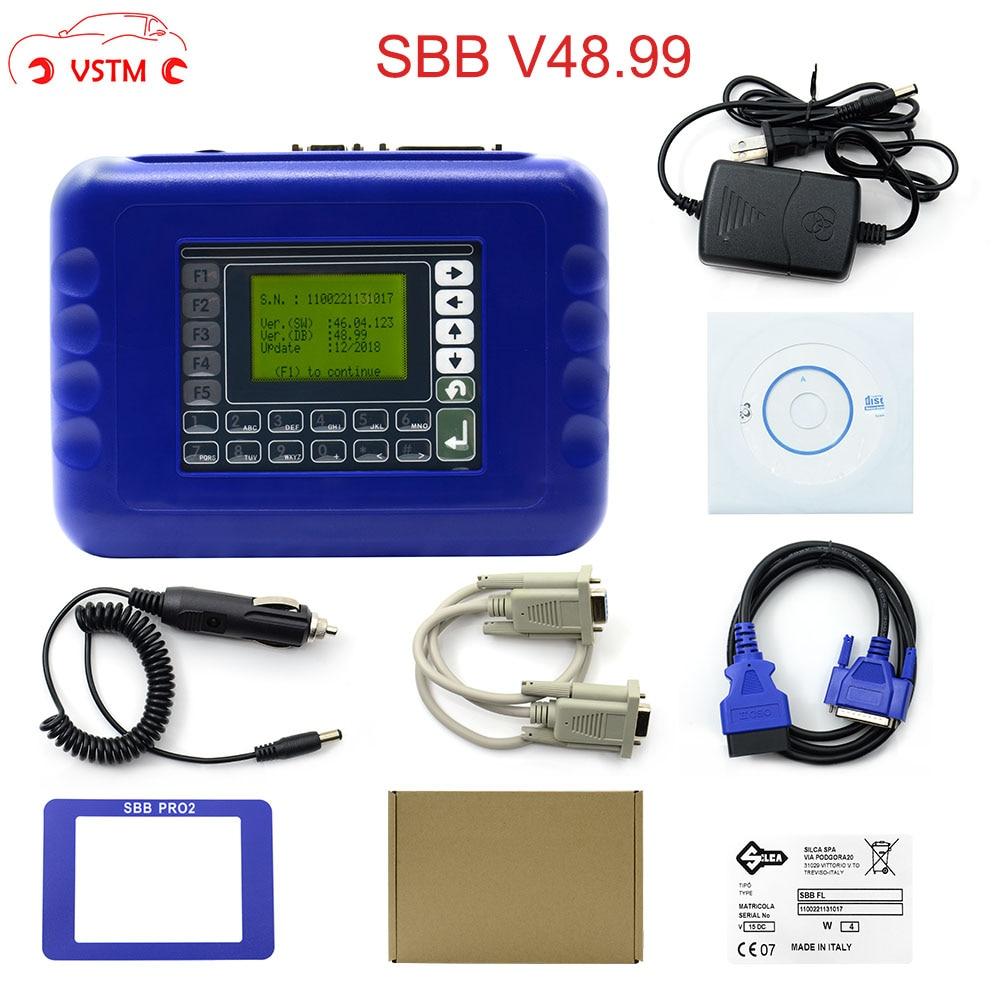 New Arrived SBB V48.99 V48.88 SBB Pro2 Key Programmer Support Cars To 2018 Replace SBB V46.02 V33.02 SBB Key Programmer
