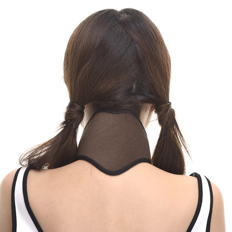 New kind Tourmaline Magnetic Therapy Neck Massager Cervical Vertebra Protection Spontaneous Heating Belt Body Massager