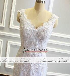 Image 2 - חתונה זר בת ים פניני חתונה שמלה עם נחמד בחזרה לקוחות סדר