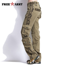 Unisex Autumn Tactical Pants Women Military Clothing Casual Cargo Pants Men Combat Pants Man Trousers With Multi Pockets