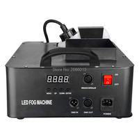 1500W LED Fog Machine 24X3W RGB Led Lights DMX Remote Smoke Machine Professional Fogger Hazer Device Stage DJ Party Equipment