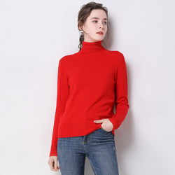 2019 Autumn Winter sweater women turtleneck cashmere sweater  knitted pullover women sweter fashion sweaters new Plus Size tops 4