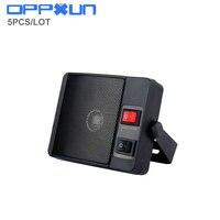 OPPXUN 3.5mm jack Heavy duty TS-750 Haut-Parleur Externe Pour Yaesu Kenwood Icom CB Radio De Voiture haut-parleur