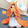 Himouto! Umaru-chan Cosplay Costume Hamsters Dress Up Winter Warm Flannel Fleece Doma Umaru Cosplay Cloak Manteau Blanket
