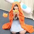 Himouto! Umaru-chan Cosplay Costume Hamsters Dress Up Winter Warm Flannel Fleece Doma Umaru Cosplay Cloak Manteau Blanket