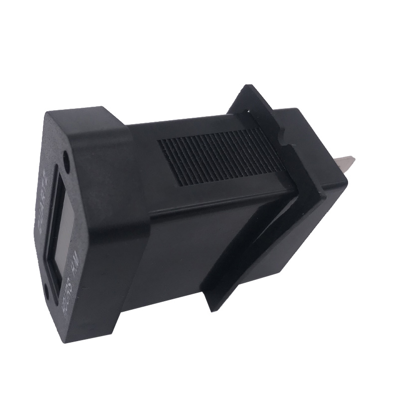 Instalación horas de funcionamiento contador 10-85v//dc horas contadores de tiempo contador negro 12v 24v