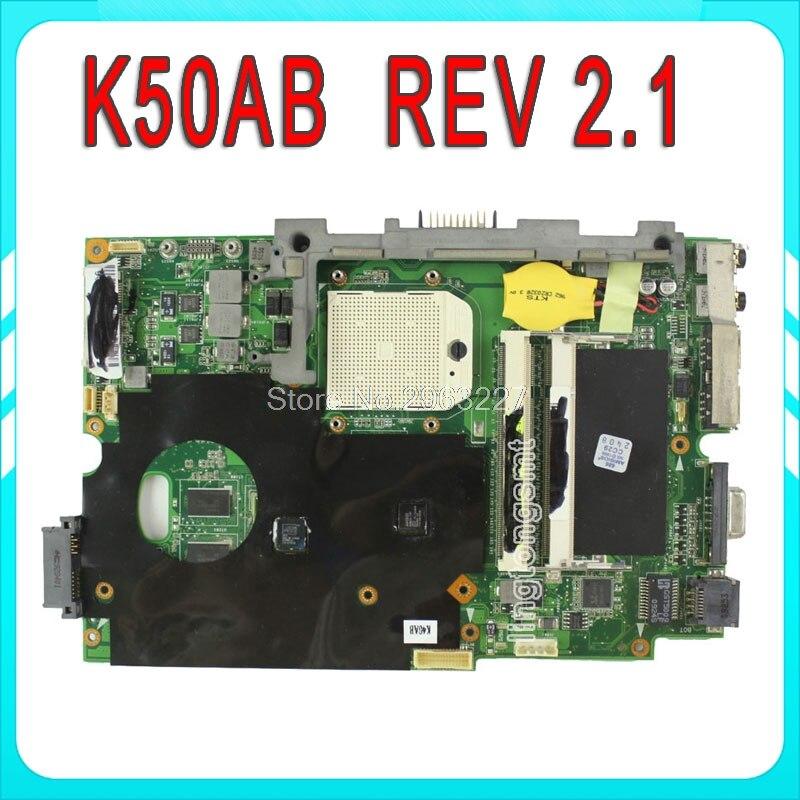 где купить Original for ASUS K50AB laptop motherboard K40AB K40AD K40AF K50AB K50AD K50AF mainboard 100% test по лучшей цене
