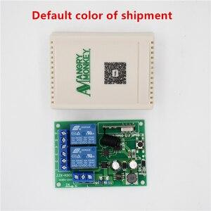 Image 5 - 433 Mhz universel sans fil commutateur de télécommande ca 85V ~ 250V 110V 220V 2CH relais récepteur Module et RF 433 Mhz télécommandes