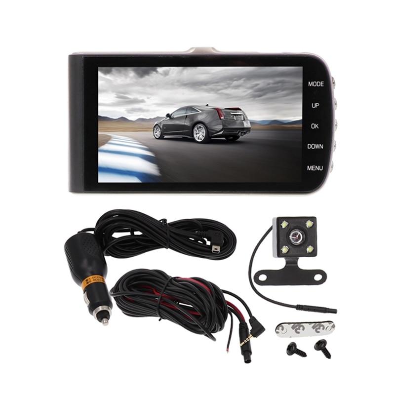 ITYAGUY Full HD 1080 P Car DVR Camera Dash Cam 4 Inch Video Recorder Dual Camera Night Vision IPS Screen потребительская электроника other sy5000 dvr wifi wdv5000 1080 p full hd