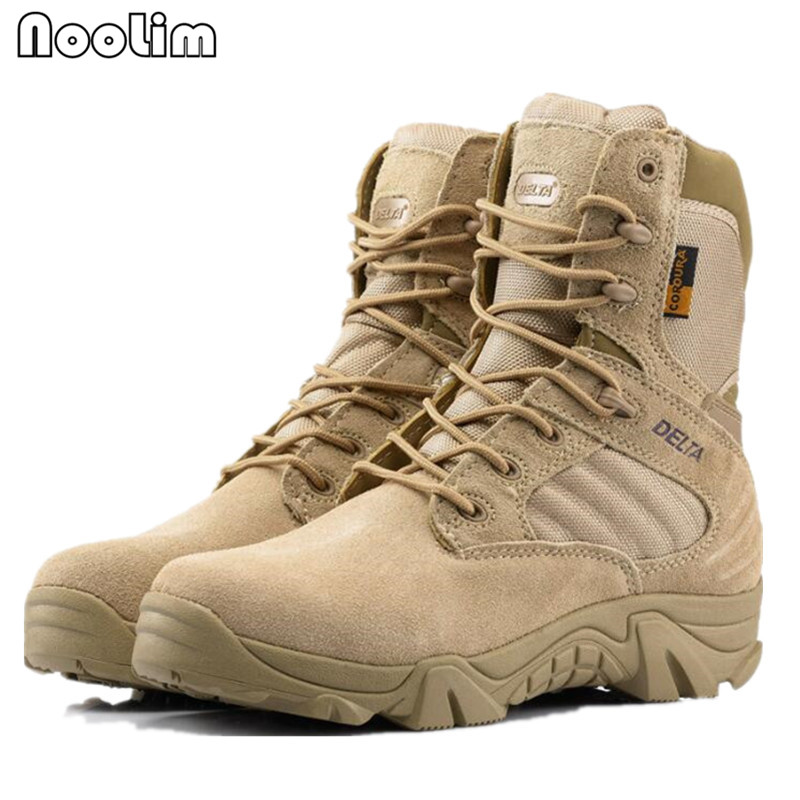 Men's Boots Shoes Men Desert Tactical Military Boots Mens Work Safty Shoes Swat Army Boot Zapatos Ankle Lace-up Combat Boots Botas Hombre Terrific Value