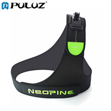 PULUZ Harness Chest Belt Single Shoulder Strap Adapter Camera Mount for GoPro Xiaoyi and Other Action Cameras цена и фото