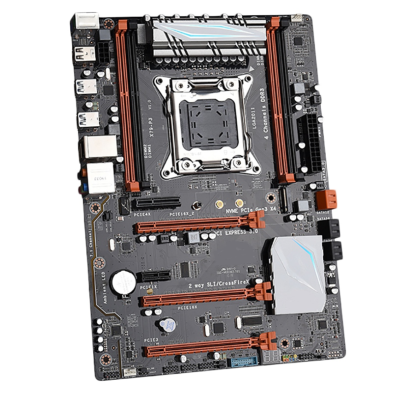X79-P3 Gaming Motherboard Lga 2011 Atx Support For Intel Xeon Core Cpu 4 X 32Gb 128Gb Ram Memory Pci-E X16 For Server DesktopX79-P3 Gaming Motherboard Lga 2011 Atx Support For Intel Xeon Core Cpu 4 X 32Gb 128Gb Ram Memory Pci-E X16 For Server Desktop