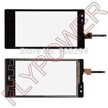 5pcs/lot 100% warranty Digitizer Touch Screen Glass FOR Xiaomi Red rice Hongmi 1S Xiao mi front panel Black by free shipping