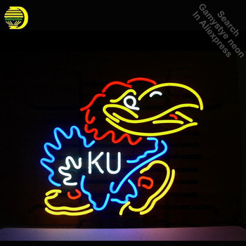 Neon Burcu Kansa Jayha Neon Ampuller Işareti KU Kuş Bar Reklamı Mağaza Ekran Özel Neon Tüp Işareti el sanatları Publicidad lambası