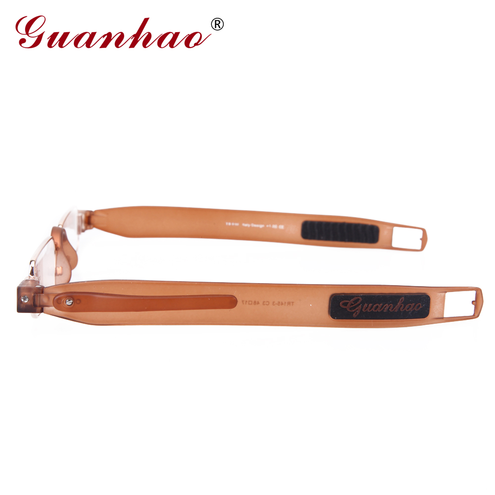Guanhao Brand Retro Portable Reading Glasses Rotating TR90 Resin - Apparel Accessories - Photo 3