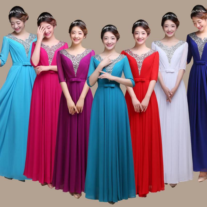 Nouveau produit mode v-cou tempérament robe femmes de haute qualité rayonne diamants Harajuku vêtements femme Style chinois robe