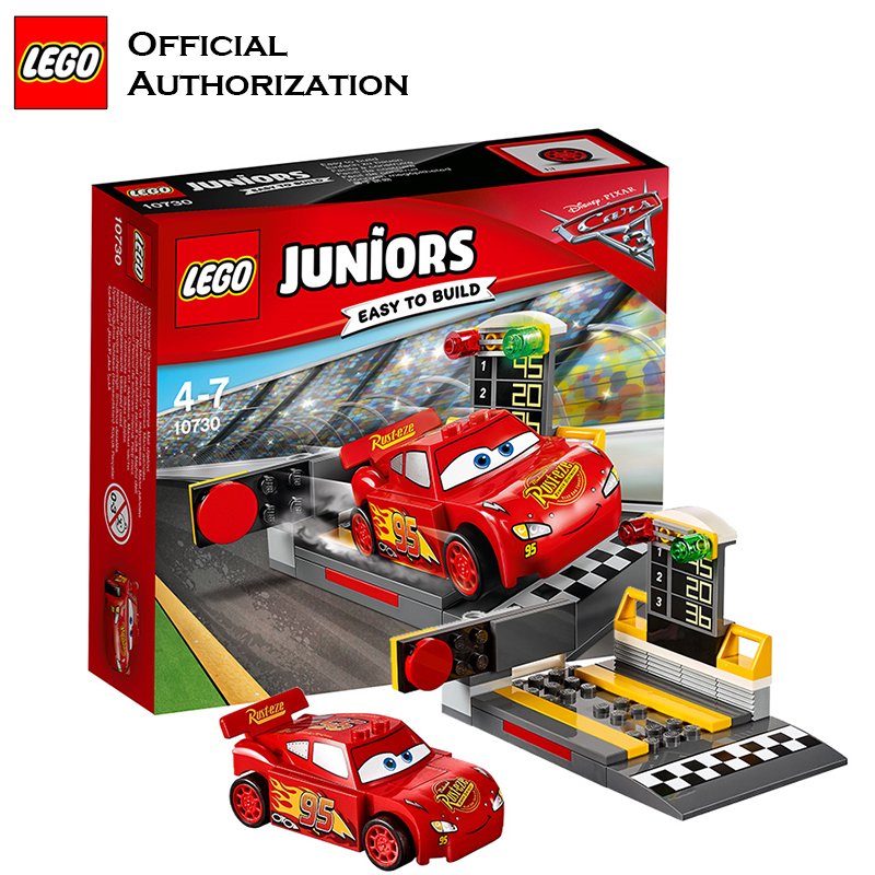 Tobay Lego Building Blocks Juniors Series Cars Theme Toys Racing Red Car With Traffic Light Easy to Build For kids 10730 2017 new building blocks car toy juniors series compatible lego building educational easy to build blocks lego gift toy