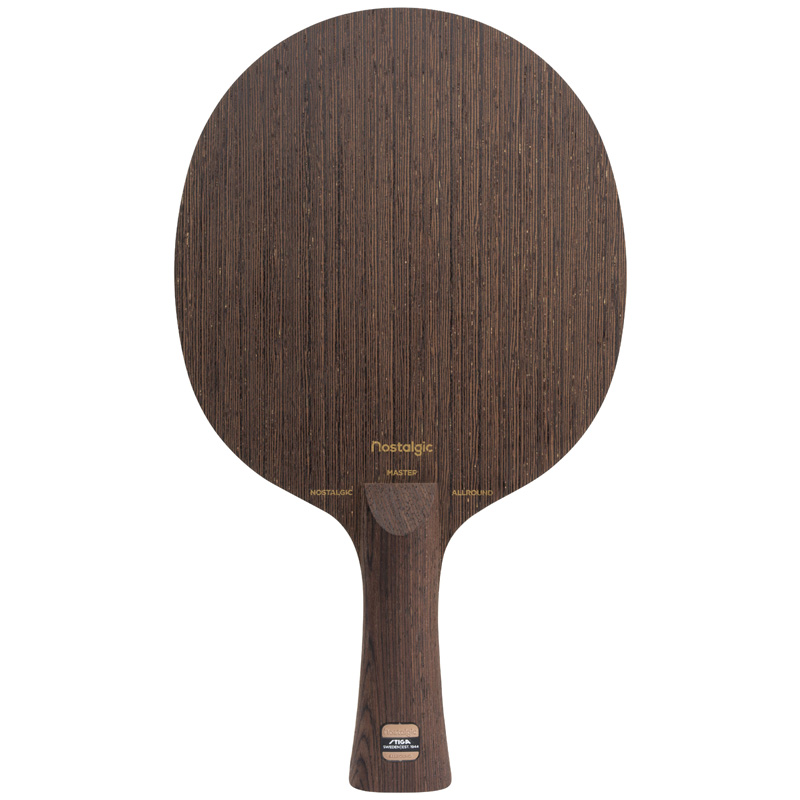 STIGA NOSTALGIC ALLROUND AC (2018 New) Table Tennis Blade (5 Ply Wenge Wood) Ping Pong Bat Tenis De Mesa Paddle andro a200 5 ply pure wood allround racket table tennis blade ping pong bat tenis de mesa