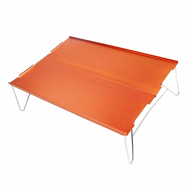 Xiu Mini Small Aluminum Camping Picnic Outdoor Hiking Table One And Two People