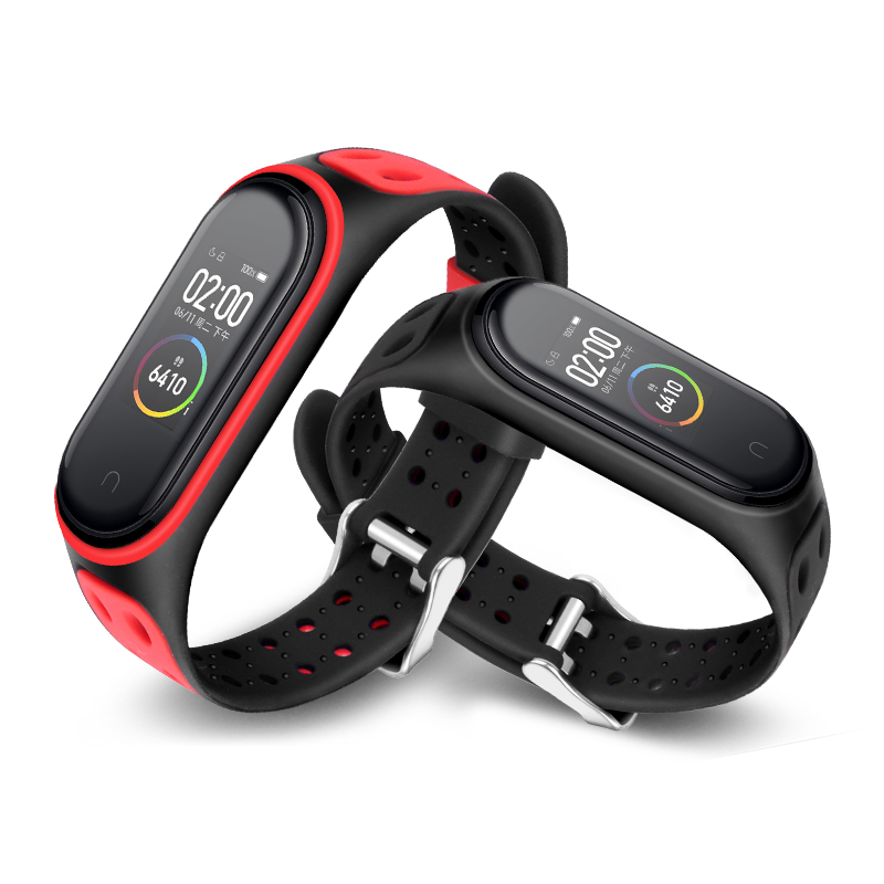 soft Bracelet For Xiaomi Mi Band 4 Strap Silicone Wrist Strap For Mi Band 4 /3 Accessories Miband 4 nfc Replacement Strap(China)