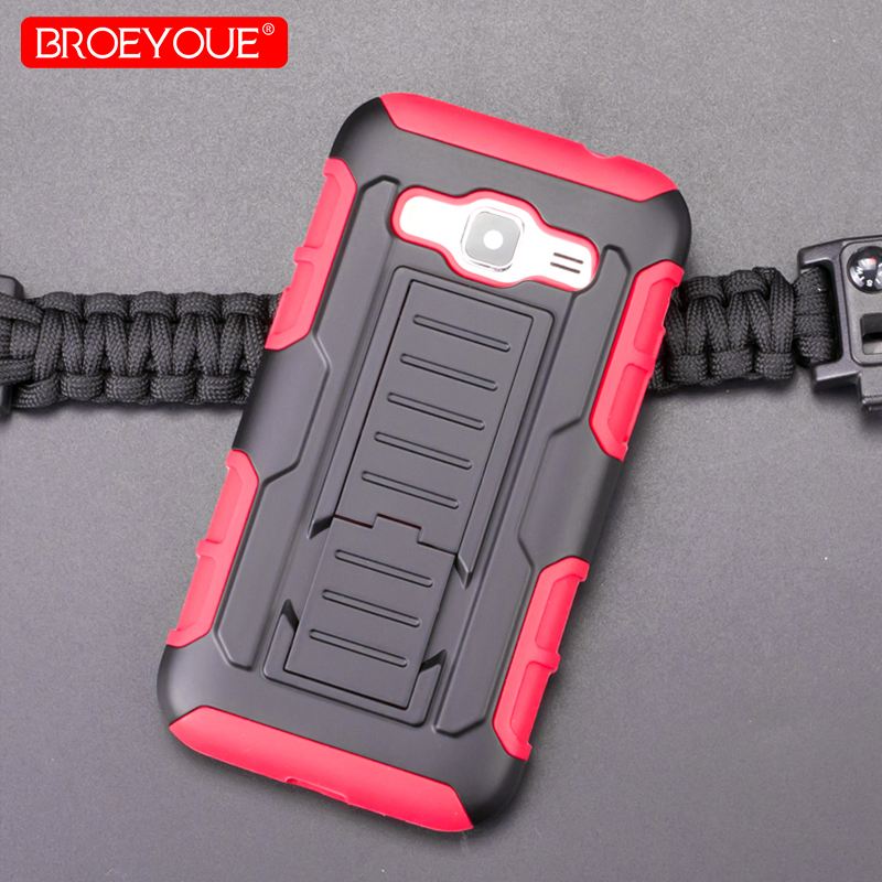 BROEYOUE Armor Holster <font><b>Case</b></font> For <font><b>Samsung</b></font> <font><b>Galaxy</b></font> <font><b>Core</b></font> <font><b>Prime</b></font> G360H <font><b>G361H</b></font> SM-G360H SM-<font><b>G361H</b></font> G360 Impact Shockproof Phone <font><b>Cases</b></font> Bags image