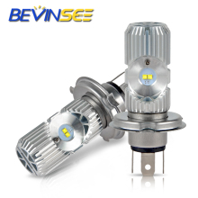 LED Motorcycle Headlight Fog Lamp Light Bulbs L12-H4 9003 Hi/Lo Beamn For YAMAHA XT225 XT250 YZF600R YW125 Zumba YZF-R1 YZF-R6 цена