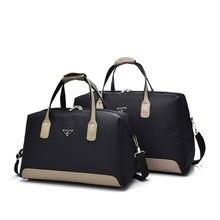 9f16ea52ad65 NIYOBO новая водостойкая оксфордская Женская дорожная сумка из лоскутной  кожи мужская дорожная сумка-вещевой мешок
