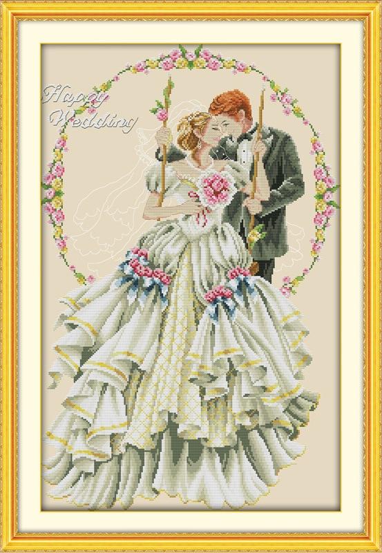 Наборы вышивки для свадьбы