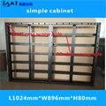 Шкаф со светодиодным дисплеем  простой шкаф 1024 мм * 896 мм  подходит для led moduleP8/P4