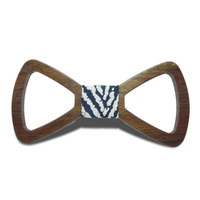 Men Groom Marry Groomsmen Wedding Party Apparel Accessories Fashion Wood Bow Tie Hollow Cravat Gift Butterfly