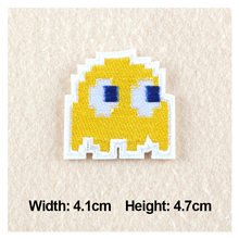 1PC Patches For Clothing Cartoon rocket Embroidery 4.1×4.7cm Patches For Apparel Bags DIY Accessories